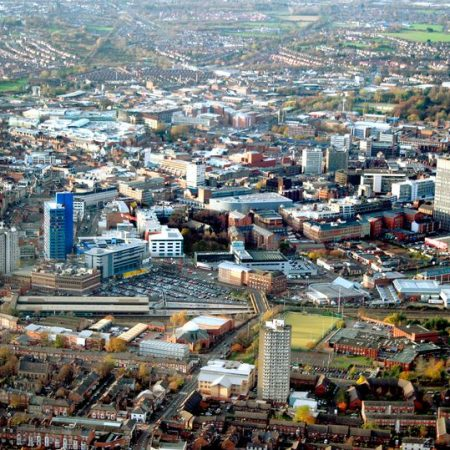 Aerial Leicester