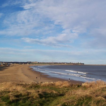 South Shields coastline